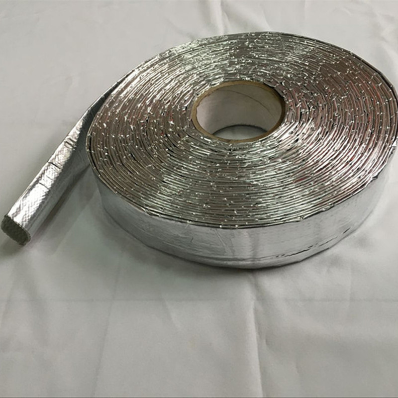 Aluminium Heat Reflect Fiberglass Sleeving